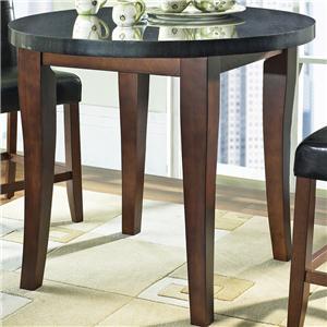 Steve Silver Granite Bello Granite Top Counter Height Leg Table