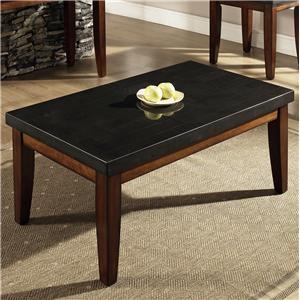 Steve Silver Granite Bello Granite Top Cocktail Table
