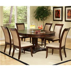 Steve Silver Marseille 7-Piece Dining Set