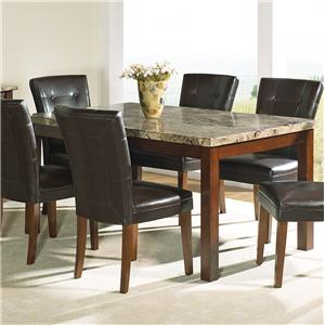 Steve Silver Montibello Rectangular Dining Table