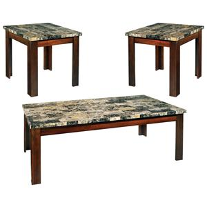 Steve Silver Montibello 3-Pack Occasional Table Set