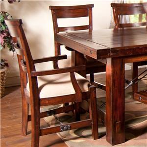 Sunny Designs Vineyard Ladder-Back Dining Side Chair