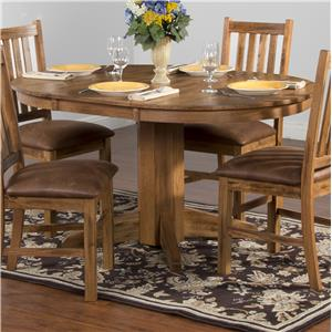 Sunny Designs Sedona Oval Extension Table