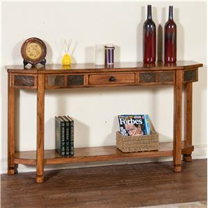 Sunny Designs Sedona Entry Console