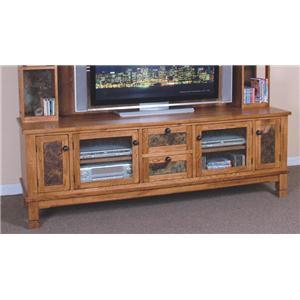 """Sunny Designs Sedona 78"""" TV Console"""