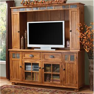 Sunny Designs Sedona Media Hutch & TV Console