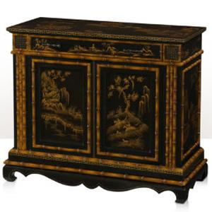 Theodore Alexander Indochine Carved Side Cabinet