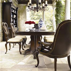 Thomasville® Brompton Hall 7-Piece Double Pedestal Dining Table Set