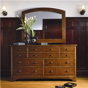 Thomasville® Cinnamon Hill Dresser and Mirror Combo