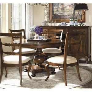 Thomasville® Vintage Chateau Five Piece Dining Set