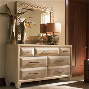 Tommy Bahama Home Road To Canberra Atherton Dresser & Ainslie Mirror