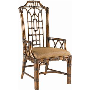 Tommy Bahama Home Royal Kahala Customizable Pacific Rim Arm Chair
