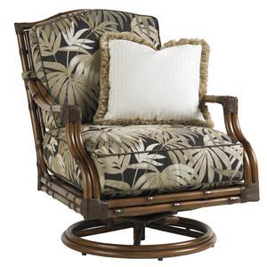 Tommy Bahama Outdoor Living Island Estate Veranda Outdoor Swivel Lounge Chair