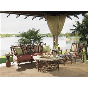 Tommy Bahama Outdoor Living Island Estate Veranda 6 Piece Conversation Set