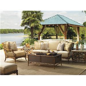 Tommy Bahama Outdoor Living Island Estate Veranda 4 Piece Patio Set