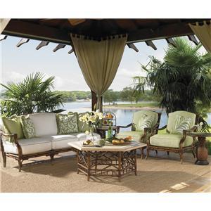 Tommy Bahama Outdoor Living Island Estate Veranda 5 Piece Conversation Set
