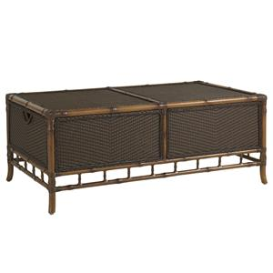 Tommy Bahama Outdoor Living Island Estate Veranda Outdoor Trunk Cocktail Table