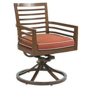 Tommy Bahama Outdoor Living Ocean Club Pacifica Dining Swivel Rocker Chair