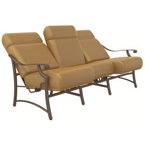 Tropitone Montreaux Ur Comfort Outdoor Reclining Sofa