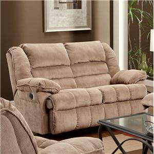 United Furniture Industries 50410 Reclining Loveseat