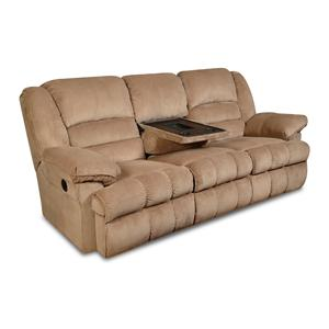United Furniture Industries 50410 Reclining Console Sofa