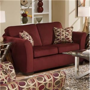 United Furniture Industries 5159 Loveseat
