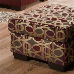 United Furniture Industries 5159 Ottoman