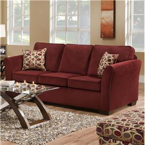 United Furniture Industries 5159 Queen Size Sleeper Sofa