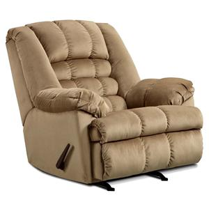 United Furniture Industries 622 Casual Power Rocker Recliner