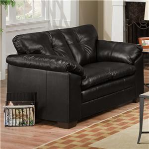 United Furniture Industries 6569 Loveseat
