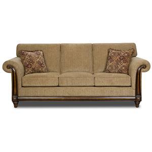 United Furniture Industries 8003 Stationary Sofa