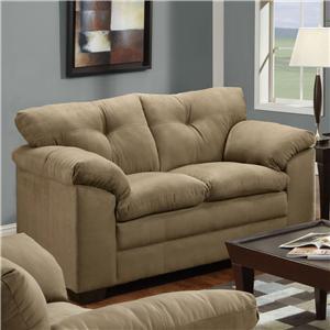 United Furniture Industries 6565 Loveseat