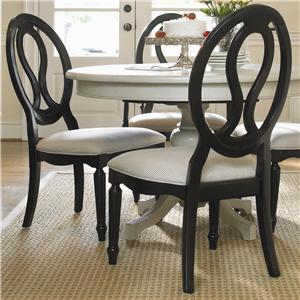 Universal Summer Hill Pierced Back Side Chair