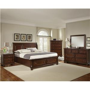 Vaughan Bassett Reflections 5-Piece Queen Bedroom Group