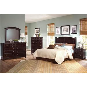 Vaughan Bassett Hamilton/Franklin Full/Queen Bedroom Group