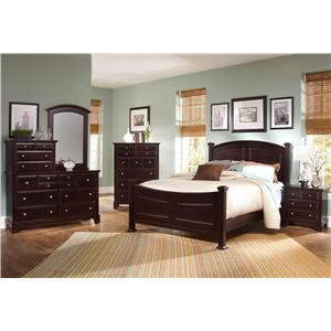 Vaughan Bassett Hamilton/Franklin King Bedroom Group