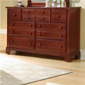 Vaughan Bassett Hamilton/Franklin 7 Drawer Dresser Chest