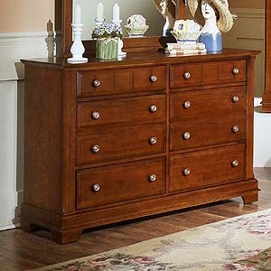 Vaughan Bassett Cottage Double Dresser