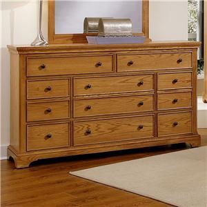 Vaughan Bassett Forsyth 8 Drawer Dresser