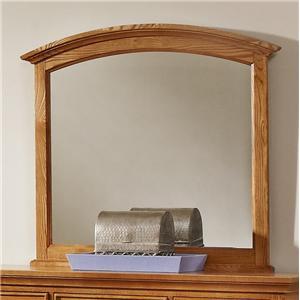 Vaughan Bassett Forsyth Arched Mirror