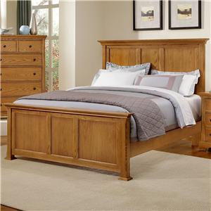 Vaughan Bassett Forsyth Queen Panel Bed
