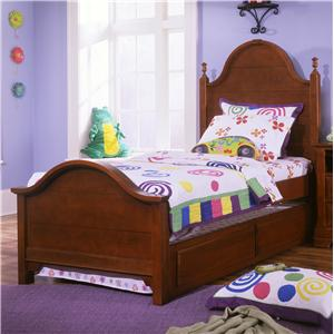 Vaughan Bassett Cottage Full Panel Bed with Trundle