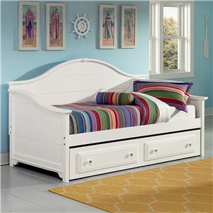Vaughan Bassett Cottage Day Bed with Storage/Trundle Unit