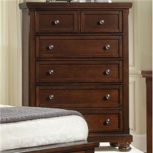 Vaughan Bassett Reflections 5 Drawer Chest