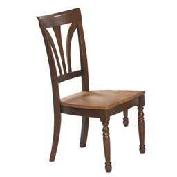 Winners Only Farmhouse Fan Back Side Dining Chair