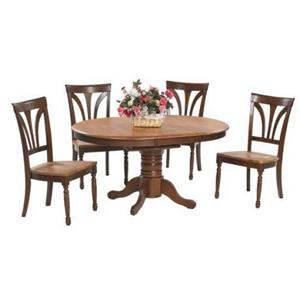 Winners Only Farmhouse 5 Piece Dining Table and Chair Set