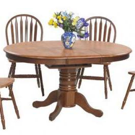 Winners Only Farmhouse Oval Butterfly Leaf Table
