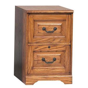 Winners Only Heritage Oak Heritage Two-Drawer File