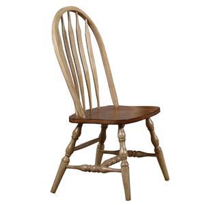 Winners Only Quails Run Arrow Back Side Chair