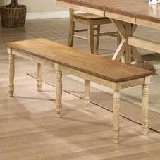 """Winners Only Quails Run 60"""" Dining Bench"""